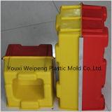 Moulage en plastique de couplage de bloc creux pour les blocs concrets