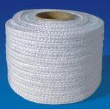 、熱に対して絶縁のためのガラス繊維の正方形ロープ