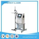 Impresora de inyección de tinta del número de serie de la fecha de la máquina de la codificación del laser