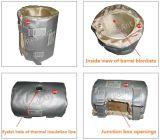 Constructeur économiseur d'énergie de jupe d'isolation de fibre de verre de 45% pour la machine d'injection