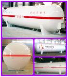 De Tank van LPG van de Kogel 10ton van LPG ASME 20ton voor de Post van de Steunbalk