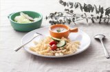"""Vaisselle 100% de mélamine «milliers de la plaque de catégorie alimentaire de mélamine de série de montagnes """" (CS846)"""