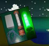 18W IP68の内腔の緑の水中魚ライト、携帯用緑の水中釣ライトおよびドックライト