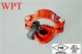 Тройник дуктильного утюга тавра UL Wpt FM Grooved механически