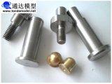 Peças Lathing do CNC, girando, Al, Lathing de cobre