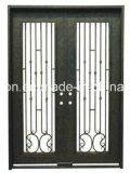 最も売れ行きの良く無作法な錬鉄のドアの入口デザイン