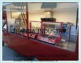 Bus-Typ mobile Nahrungsmittelkarre für Verkauf von Qingdao, China