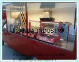Tipo carro móvil del omnibus del alimento para la venta de Qingdao, China