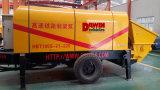 Bomba de entrega concreta a mais grande concreta poderosa de 80 Cbm/hora grande com potência elétrica ou Diesel na venda