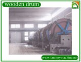 Tannery Soaking Liming Tanning Wooden Drum para Leather Factory