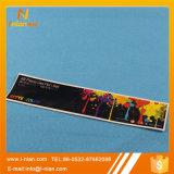Escritura de la etiqueta de la caja de embalaje de la pluma del color del papel