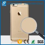 Caixa abundante Smartphone do espaço livre TPU do chapeamento da alta qualidade para o iPhone 6