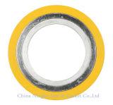 Guarnizione a spirale d'acciaio duplex della ferita dell'amianto