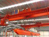 400/80ton de dubbele LuchtKraan van de Brug van de Hanger van de Balk met de Elektrische Opheffende Machines van het Hijstoestel