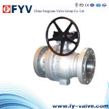 Api 6D Flanged Estremità Stainless Steel Floating Ball Valve