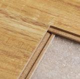 12mmは黄色カシの積層物の木製のフロアーリングを浮彫りにした