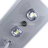 Luz solar al aire libre integrada todo en uno Luz de calle solar del LED con el sensor de PIR y el regulador de MPPT