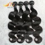 Prezzo poco costoso del Virgin di 100% dei capelli del corpo vietnamita non trattato di estensione