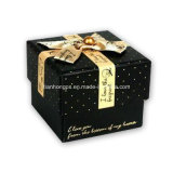 Cardbord Gift Packaging Box Printing с Silk Knot