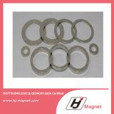Neodym-permanente Magneten des Ring-N35 mit sechseckigem Form-Loch in China