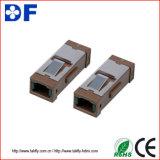 Adaptador simples/frente e verso da fibra óptica do St FC do Sc LC