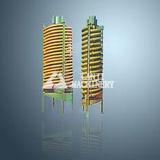 Rampa espiral do bom minério do tântalo da venda com projeto 2016