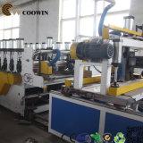 Linha de produção plástica de madeira do perfil do composto WPC para o revestimento/pálete