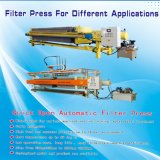Automatic 1000X1000 PP Membrane Filter Press Usado em alimentos