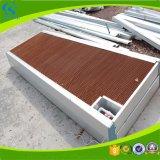 Almofada refrigerar evaporativo da estufa para a casa das aves domésticas
