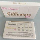 A composição enfrentou demasiado estilos da paleta 11colors 2 da sombra da microplaqueta de chocolate