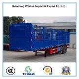 50 tonnellate del palo del camion di rimorchio pratico semi con l'asse di 3 Fuwa