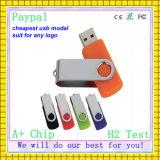 Disco del USB del disco de destello del USB del eslabón giratorio de China de la capacidad plena (GC-P982)