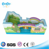 Cocowater Design Inflatable Rainbow Theme Bouncer LG9006