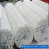 Tissu tissé par polypropylène blanc de la Vierge pp