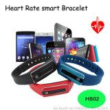 Bracelet Bluetooth intelligent à la vente chaude avec moniteur de fréquence cardiaque