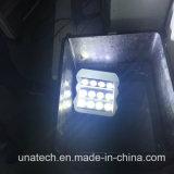 Bulbo ao ar livre do diodo emissor de luz do quadro de avisos da etiqueta das lâmpadas do diodo emissor de luz que anuncia a iluminação