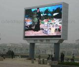 Шкаф видео- стены экрана СИД индикации СИД полного цвета P6 P8 P10 P16 SMD водоустойчивый напольный большой рекламируя водоустойчивый