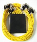 Usine d'exportation d'adaptateur de fibre optique de PC de FC pour le câble optique de fibre