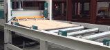Máquina quente automática da estratificação da madeira da imprensa