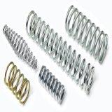 Zinc Silberne große Stahldruckfeder