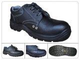 スポーツの様式によって印刷されるBuffaloeの革通気性の安全靴のセリウムEn20345