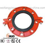 Bride fendue de fer malléable Élevé-Qualitied avec l'homologation NA 16 de FM/UL/Ce et la classe 150 de norme ANSI