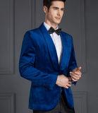 Людей способа дела изготовленный на заказ высокого качества куртки голубых тонкие