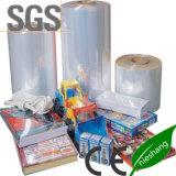 Película del encogimiento PVC/POF/PE del embalaje de la categoría alimenticia
