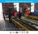 Del tester 2 dell'asse Suspension12.5 della base rimorchio resistente del camion semi con la rete fissa ed il palo per trasporto di contenitore o del carico all'ingrosso
