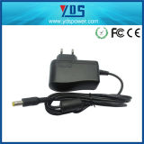 Ue Type Wall Mount Charger dell'input 100-240V 9V 0.6A