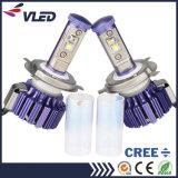El más reciente de la linterna 8000lm 6000k 3000k H4 H / L cabeza de la lámpara LED Piezas de coches