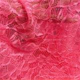 Tela roja del estiramiento africana vestido de encaje (NF1001)