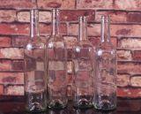 frasco de vidro feito-à-medida do licor 700ml/750ml/1L com impressão da tela