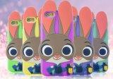 [3د] رسم متحرّك أرنب [جودي] [موبيل فون] سليكوون حالة لأنّ [إيفون] [6س]